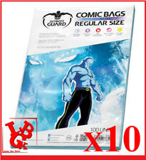 Pochettes Protection REGULAR Size REFERMABLES comics VO x 10 Marvel # NEUF #