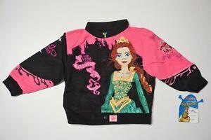 Kid's Child's Toddler - Shrek Fiona Princess NASCAR Jacket  - Sizes 2T, 3T, & 4T