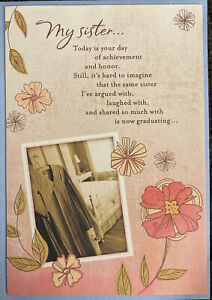 Hallmark Graduation Sister Greeting Card