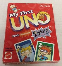 Nikelodeon RUGRATS Edition - My First UNO Card Game by Mattel
