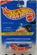 BLUE PROPPER CHOPPER 3 414 HELICOPTER STREET EATERS SERIES HW HOT WHEELS