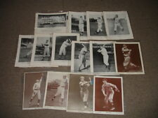 Lot of (14) Different 1952 Baseball Magazine Player Photos