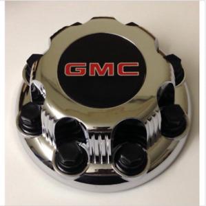 one piece 03-15 GMC Savana Sierra Yukon XL 8 Lugs Center Cap CHROME replacement