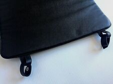 LE CORBUSIER CHAISE REPLACEMENT BLACK LEATHER PAD MADE IN ITALY