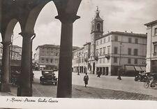 RIMINI - Piazza Giulio Cesare - Foto Cartolina 1940