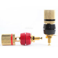8 liaison post Speaker Terminals Premium 4 mm Banana Sockets isolé BINPOS 04