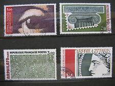 FRANCE oblitérés n° 1830 à 1833