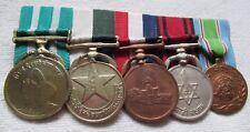 Nepal Kingdom of Order Ordensspange with 5 Medal Decoration