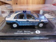 del prado FIAT MAREA polizia di stato Alto Adige 1999  1/43  Neuf Ss blister