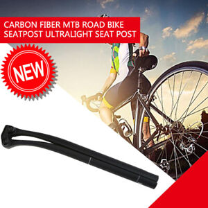 Details about  /Full Carbon Fiber MTB Road Bicycle Seatpost Bike Seat Post Tube 25.4-31.6MM New