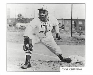 OSCAR CHARLESTON 8X10 PHOTO NEGRO LEAGUE PHILADELPHIA BASEBALL
