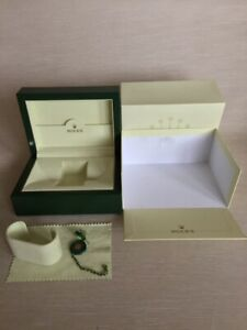 Genuine ROLEX SA - GENEVE SUISSE 31.00.64 Watch Box and Outer Box