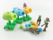 PLANTS vs ZOMBIES - SET 6 FIGURAS / 6 FIGURES SET 10cm (+ 20 BOLAS / + 20 BALLS)