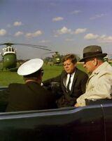 President John F. Kennedy and Vice-President Lyndon Johnson New 8x10 Photo