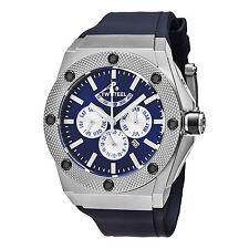 TW Steel Women's Ceo Tech Blue Dial Blue Rubber Strap Automatic Watch CE4016