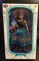Frozen Fever Anna 17 Inch Doll #1708 of 5000 Disney Limited Edition 2015