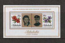 AITUTAKI 14 NOVEMBER 1973 ROYAL WEDDING MINIATURE SHEET MNH