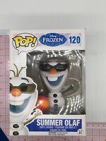 Funko Pop! Disney Frozen #120 - Summer Olaf Vaulted/Retired NOT MINT BOX P04