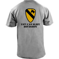 US Army 1st Cavalry Division Veteran Full Color T-Shirt