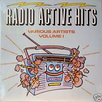 RADIO ACTIVE HITS vol1 1982 vinyle 33T import USA NEUF vinyl lp long player