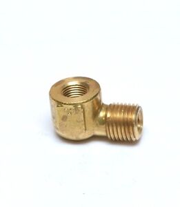 Forged Street Elbow 1/8 Female Npt x 1/4 Npt Male Fitting Water Oil Gas Fuel