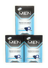 Tena Men Protective Shield Extra Light Pads 3 Packs of 14 (42 pads in total)