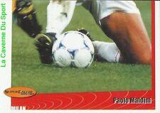 264 PAOLO MALDINI 3/3 ITALIA AC.MILAN STICKER SUPER CALCIO 2001 PANINI