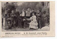 LE CIRQUE et ses thémes PHENOMENES N.W.KOBELKOFF sans bras ni jambes né russie 8