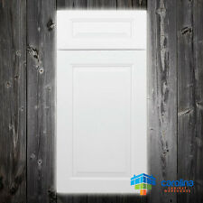 Solid Wood RTA Cabinet Sample Door, Wood Kitchen Cabinets Color: Modern White
