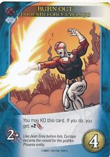 PHOENIX FORCE CYCLOPS Upper Deck Marvel Legendary BURN OUT