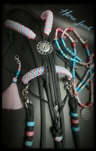Bitless Bridle Rope Halter Reins and Rhythm Beads by Horse Leads