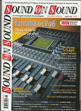 SOUND ON SOUND Magazine August 2003 - Yamaha 01V96