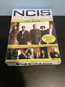 NCIS The Game - Based on the TV Series - 2010 Pressman - 1 to 6 Players - NIB