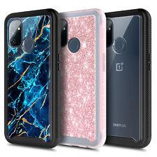 Para OnePlus Nord N100 caso, cuerpo completo teléfono cubierta + protector de pantalla incorporada