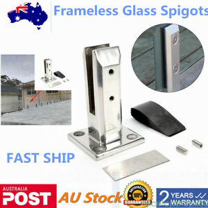 Glass Fence Spigot Pool Balustrade Fencing Clamp Spigots Floor Stand Stairs 2021