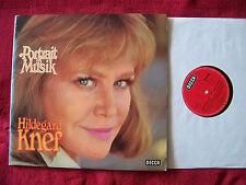 Hildegard Knef - Portrait in Musik     German Decca  D-LP