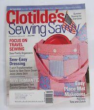 Clotilde's Sewing Savvy Magazine July 2005 Vol 6, Nbr 4