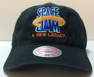 Mitchell & Ness x Space Jam 2 A New Legacy NBA Strapback Black Hat Dad Cap
