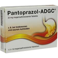 PANTOPRAZOL ADGC 20 mg magensaftres.Tabletten 14St Tabletten magensaftresistent