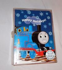 Thomas & Friends Holiday Christmas Cards and Envelope 12 pack 7.25x5.25 Very HTF