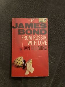 From Russia With Love Pan Books 1965 Ian Fleming James Bond 20th Print