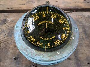 Danforth White Constellation Compass brass bronze