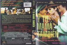Dvd: Y Tu Mama Tambien Unrated.Maribel Verdu .Spanish/English Subtitles