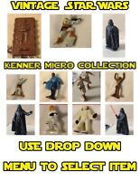 Kenner Star Wars Micro Collection 1982 Figures - Miniature Die Cast Figures