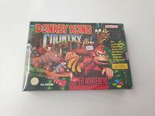 Donkey Kong Country SNES - Super Nintendo , OVP , CiB , komplett