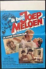 Ik ben Joep Meloen Movie Poster,Nederlands,1981,Original,Folded