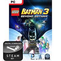 LEGO BATMAN 3 BEYOND GOTHAM PC AND MAC STEAM KEY