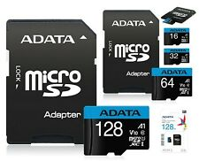 16 32 64 128GB Micro SD Card Memory TF Class 10 Samsung Nintendo Switch Adapter
