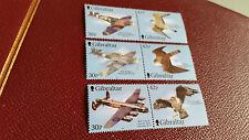 Gibraltar 2000 SG 943-948 Wings of Prey (série 2ND) neuf sans charnière