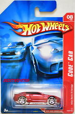 HOT WHEELS 2007 CODE CAR ASTON MARTIN V8 VANTAGE RED